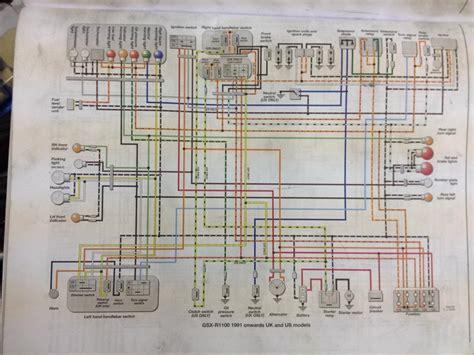 1990 gsxr 1100 wiring diagrams wiring diagram schemes