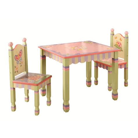 Childrens Table And Chairs by Children S Table Chair Set Magic Garden Just 48