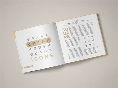 book free square book mock up punedesign