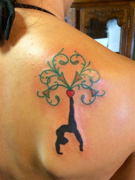 gymnastics tattoos gymnastics i designed tattoos