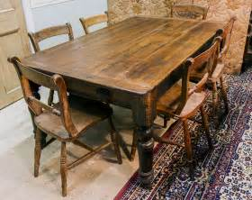 Antique Dining Tables And Chairs Antique Dining Table
