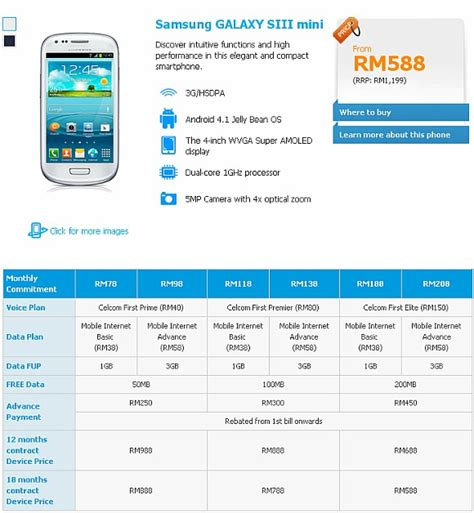 Hp Samsung S3 Mini samsung i8190n soyacincau