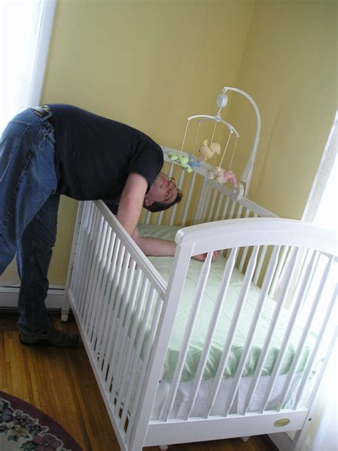 How To Put Together A Baby Crib And Baby Makes Three Putting Together The Crib