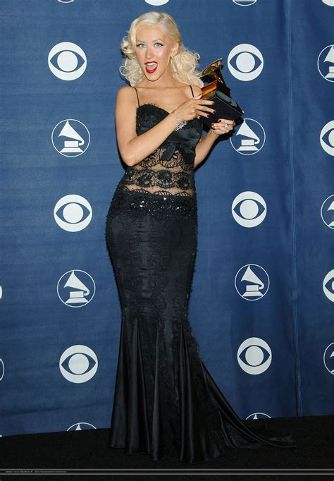 Did Aguilera Go Nuts At The Grammy Awards by S Best Dress Poll Results