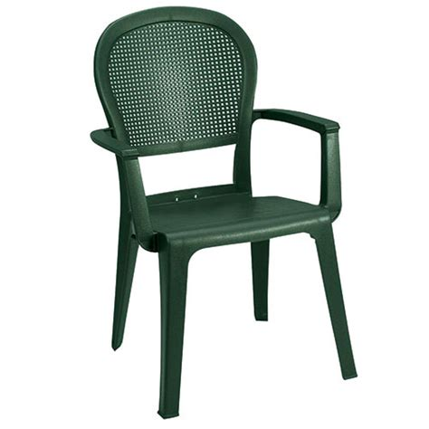 Resin Stacking Chairs Outdoor by Grosfillex Us105002ch Seville Outdoor Armchair Metal