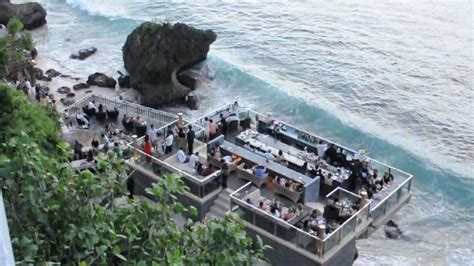 Bali Cliff Top Bar by Checking Out The Surf In Uluwatu And Rockbar At