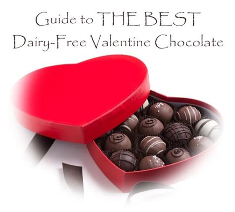 Your Guide To The Best Valentines Day Chocolate by The Best Dairy Free Chocolate Up Go