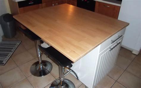 ilot cuisine sur mesure ilot central de cuisine sur mesure le du bois
