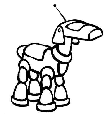 simple robot coloring page simple robot colouring pages page 3 crafty kids