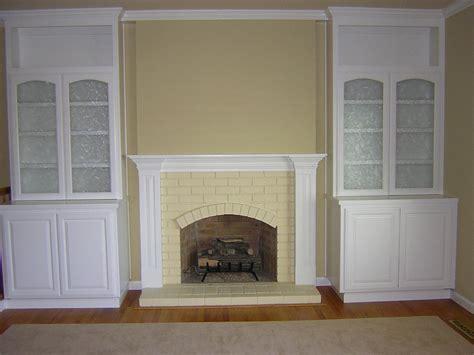 white cabinet living room
