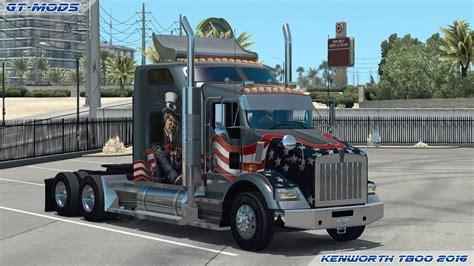 kenworth t800 gt mods kenworth t800 2016 v0 1 truck truck