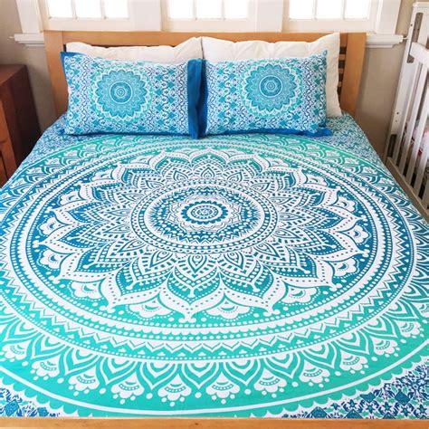 mandala bedding indian mandala bedding set throw hippie bohemian