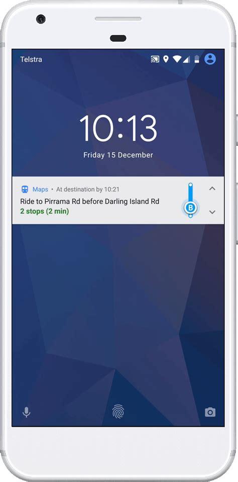 gif app android maps mejora las direcciones en transporte p 250 blico