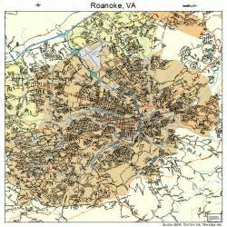 roanoke virginia map 5168000