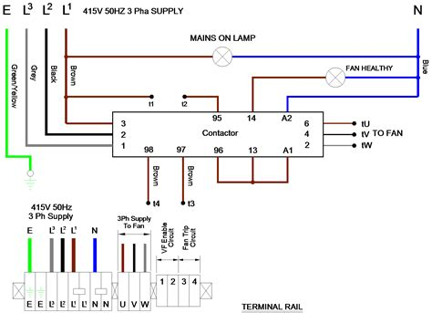three phase electrical wiring diagram agnitum me