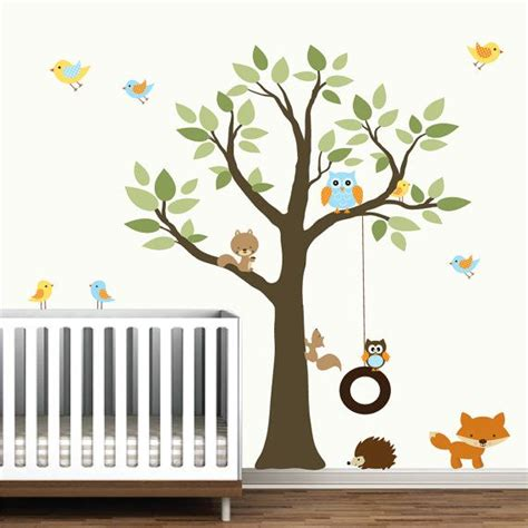 Forest Nursery Wall Decals 17 Best Images About Templates On Woodland Creatures Leaf Template And Tree Templates