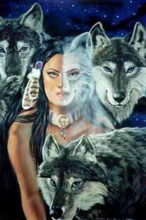native american wolf spirit native american woman wolves spirits wild wolf woman