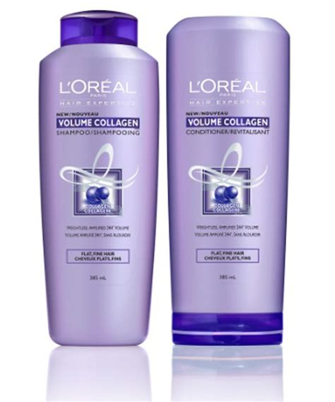 Kondisioner Loreal l or 233 al hair expertise volume collagen shoo