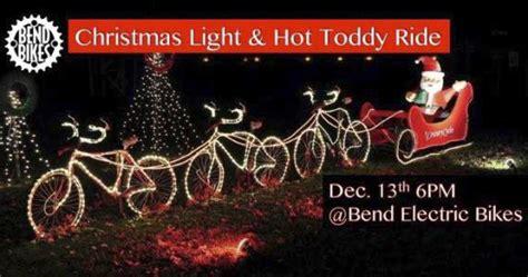 lights bend oregon lights toddy ride in bend oregon