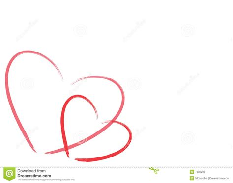 imagenes en blanco de corazones dos corazones en el fondo blanco con el sitio para el