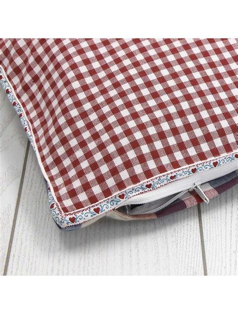 cuscini stile country federa per cuscino decorativo stile country con un cuore