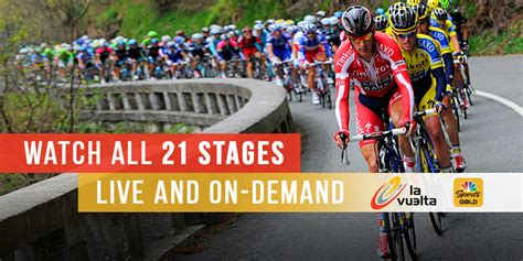 nbc sports tour de challenge vuelta a espa 241 a and more cycling events on the roku