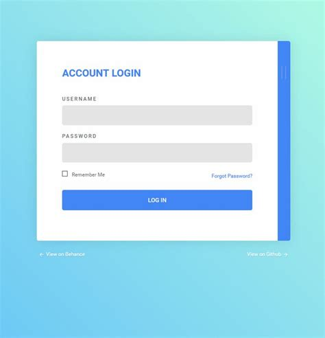 design form login html 111 best ui log in register images on pinterest
