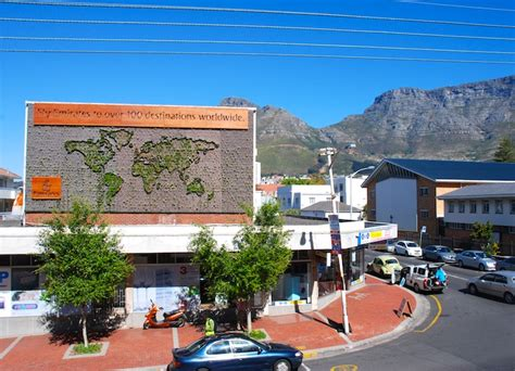 south africa s vertical garden is a living growing