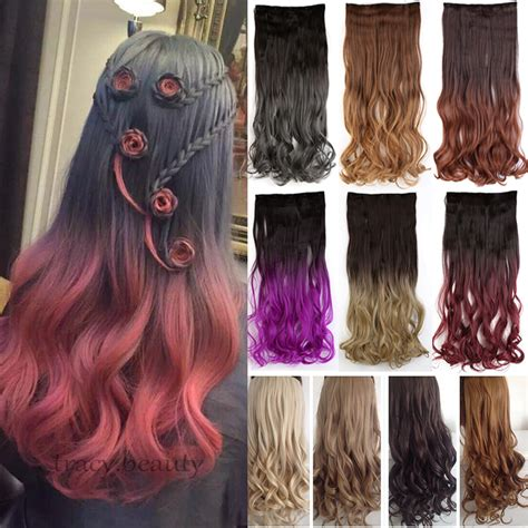 proper hair extensions 3 4 ombre dip dye hair extensions one hair