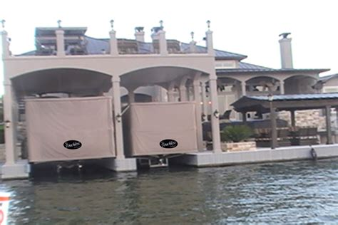 boat dock cover touchless boat covers norris docks ii