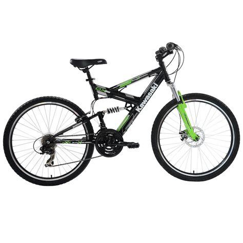 mtb cycling kawasaki dx 26 full suspension bicycle