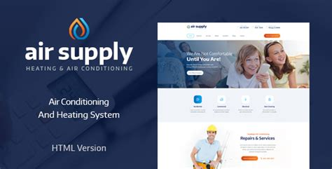 Air Conditioning And Heating Services Site Template Theme For U Heating And Air Conditioning Website Templates