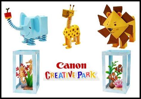 Canon Paper Crafts - canon papercraft zoo aquarium paperkraft net free