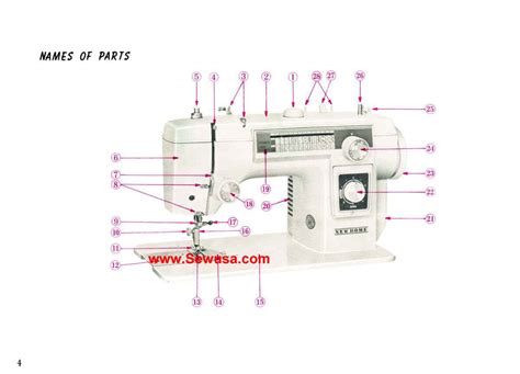 new home model 552 sewing machine manual