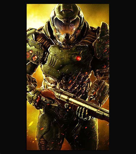 Doom Soldier HD Wallpaper For Your Mobile Phone