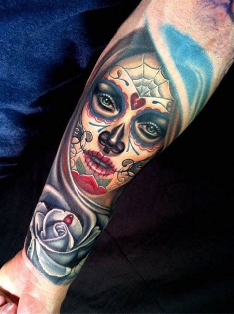 tattoo 3d caveira 25 melhores ideias sobre tatuagem catrina no pinterest