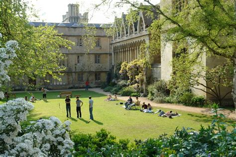 College Gardens by Panoramio Photo Of Oxford College Garden