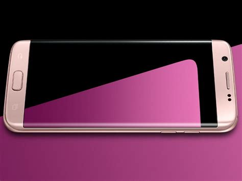 Samsung Galaxy S7 Edge Pink samsung galaxy s7 und galaxy s7 edge auch in pink gold