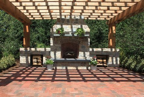 30 vintage patio designs with bricks pergolas patios