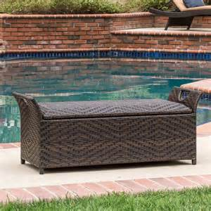 Outdoor Storage Bench Best Selling Home Decor 295551 Wing Outdoor Storage Bench Atg Stores