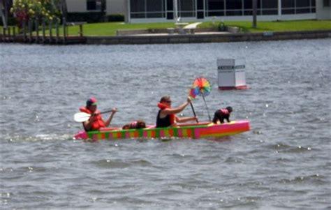 cardboard boat challenge instructions cardboard boat regatta