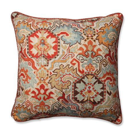 madrid square throw pillow persian and tweak sedona traditional decorative pillows by