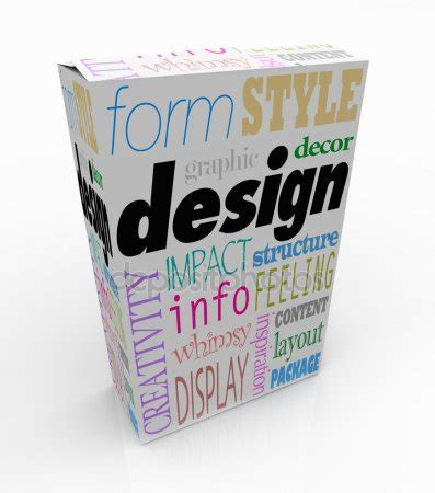 visual communication design words graphic design words product box package visual