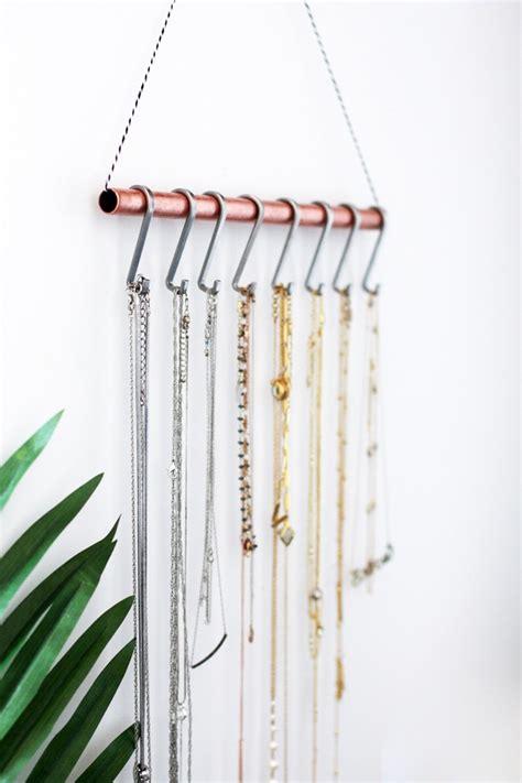 diy necklace hanger diy necklace holder for the minimalist