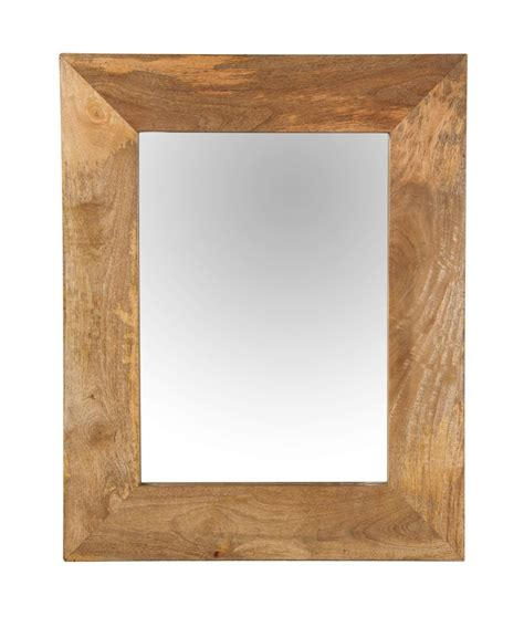 dakota light mango wall mirror