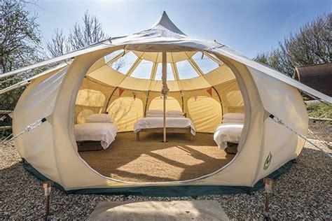 Caravan Awnings Bell Tents Golden Cap Holiday Park Luxury Dorset