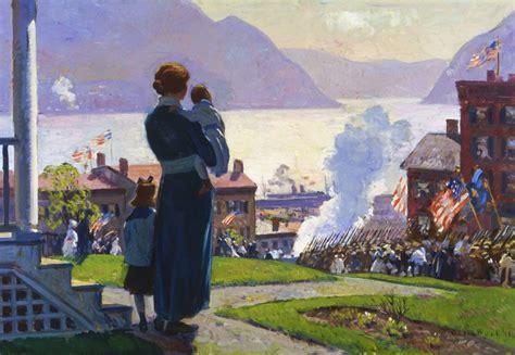 world painting show world war i and american pafa pennsylvania academy