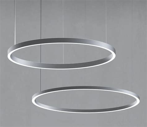 circular led light uno and duo led pendants delray lighting these circular