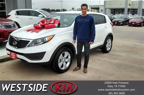 Kia Westside Thank You To Ravi Garg On Your New 2013 Kia Sportage Fro