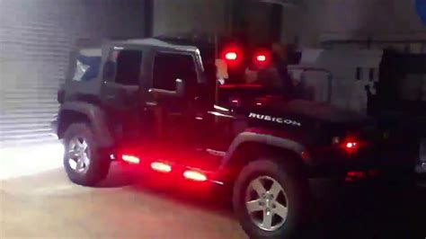 Emergency Lights For Jeep Wrangler Hg2 Emergency Lighting Jeep Wrangler